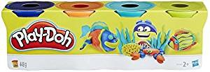 Play Doh 4er Pack Knete