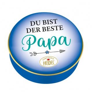 Heidel Du Bist Der Beste Papa Metalldose mit Schokoladen Pralinen 32g