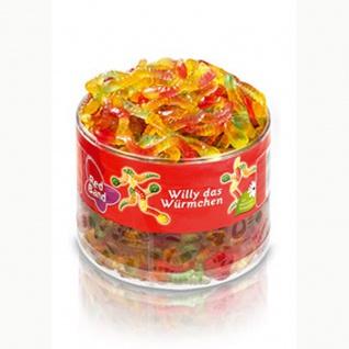 Red Band Willy das Würmchen Fruchtgummi Würmer mit natürlichen Farbstoffen 1100g