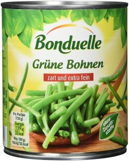 Bonduelle Grüne Bohnen feinste Auslese, 6er Pack (6 x 850 ml Dose)
