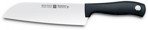 Wüsthof Santoku Messer aus rostfreiem Spezialstahl Silverpoint 17cm