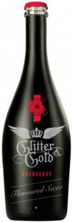 Glitter & Gold Cranberry Flavoured Secco aus italienischen Trauben 750 ml