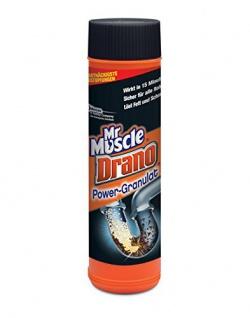 Mr Muscle Drano Power-Granulat Inhalt: 2x500g Rohrfrei sicher für alle Rohre. 2er Pack
