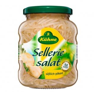 Kühne Sellerie Salat süßlich pikant im Geschmack verzehrfertig 370ml