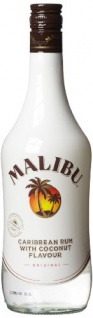 Malibu White Rum with Coconut 21 %