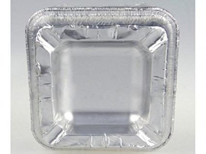 25 x Aschenbecher Alu Einwegaschenbecher aus Aluminium Einweg