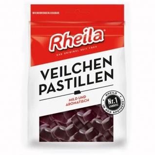 Rheila Veilchen Pastillen Hartlakritz Pastillen Laktosefrei 90