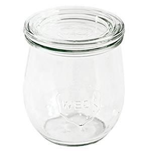 Dosen Zenrtale Einkochglas 1500ml Mini Tulpenform Einmachglas Rundrand