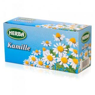 Herba Kamillentee mild im Geschmack Kräutertee Kamille 12er Pack