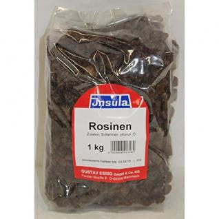 Rosinen von Insula Sultaninen zum Verfeinern von Müsli 1000g