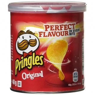 Pringles Original Flavour Portionspack mit leckeren Stapelchips 40g