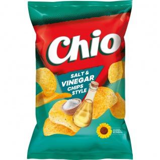 Chio Chips Salt and Vinegar Salz und Essig vegetarisch Tuete 175g
