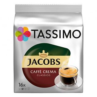Tassimo Kapseln Classico Kaffeegenuss in der XL Becherportion 112g