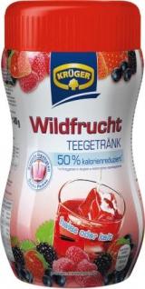 Krüger Teegetränk Wildfrucht 50 Prozent kalorienreduziert 12er Pack