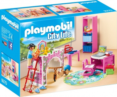 Playmobil Froehliches Kinderzimmer