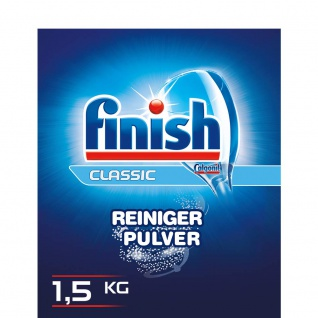 Finish/Calgonit Classic Power Pulver, Geschirrreiniger Pulver, 1.5 kg