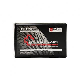 Leina-Werke 10105 KFZ-Verbandkasten Fotodruck, Schwarz/Mehrfarbig