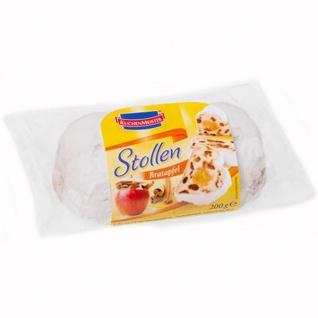 Kuchenmeister Bratapfel Stollen mit Apfel Marzipan Füllung 200g