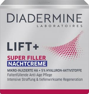 DIADERMINE LIFT+ Nachtpflege SUPER FILLER Nachtcreme Faltenfüllende Anti-Age Pflege 50ML