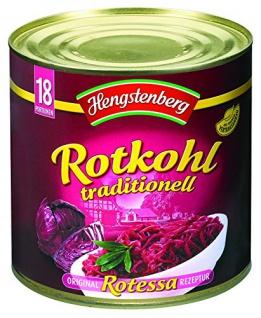 Hengstenberg Rotkohl traditionell 2650 ml, 1er Pack (1 x 2.65 kg)