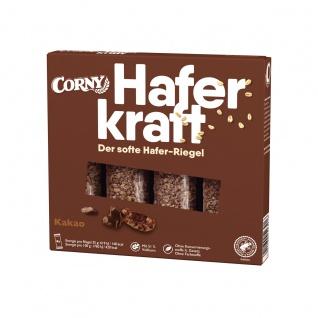 Corny Haferkraft Kakao verpackte Riegel aus Vollkorn Haferflocken 140g