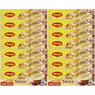 Maggi Helle Sauce ideal zu Gemüse und Fisch 3er für 3x 250ml 14er Pack