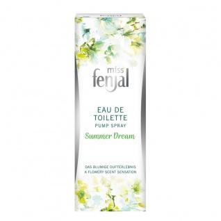 Miss Fenjal Eau de Toilette Summer Dream Pump Spray Orangenblüte 50ml - Vorschau 2