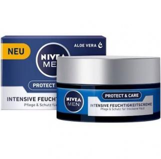 Nivea For Men Intensive Feuchtigkeitscreme Protect Care 50ml 3er Pack