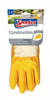 MAPA Handschuh Special Typ 4 Construction Größe L aus Nitril