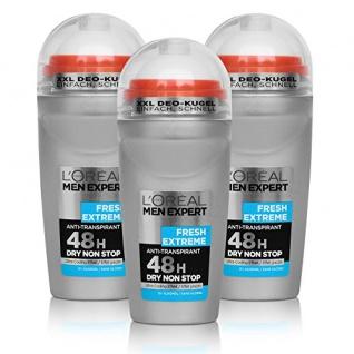 L'Oréal Men Expert Fresh Anti Transpirant Deodorant 50ml 3er Pack