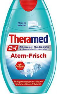 Theramed 2in1 Atem-Frisch, 4er Pack (4 x 75 ml)