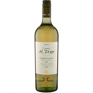 Al Dente Chardonnay Weißwein IGT Stillwein halbtrocken 1000ml 6er Pack