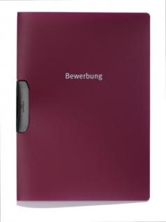 Bewerbungsmappe Duraswing Job aubergine/dunkelrot