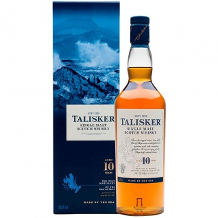 Talisker 10 Jahre Single Malt Scotch Whisky aus Schottland 700ml