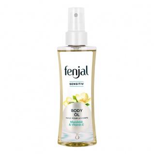 Fenjal Body Öl Sensitiv mit natürlichem Mandelöl und Vitamin E 145ml