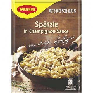 Maggi Wirtshaus Spätzle in Champignon Sauce herzhaft abgeschmeckt 123g