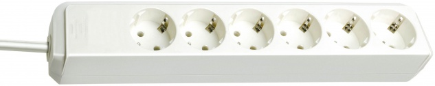 Brennstuhl Steckdosenleiste 6-fach weiß