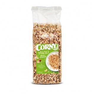 Corny Müsli Nuss Crunch mit Cashewkerne Haselnüsse und Mandeln 1000g
