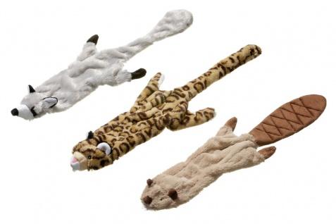 Hundespielzeug Premium Plüschspielzeug Wildzoo mit Quitscher L: 340mm B: 100mm