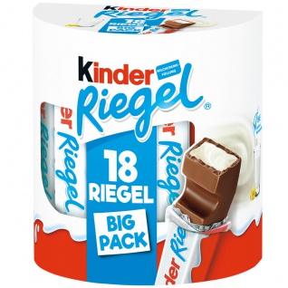 Kinder Schokoladenriegel Vollmilch mit Milch Creme Füllung 378g
