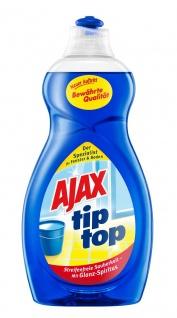 Ajax Glasreiniger Tip Top für streifenfreie Sauberekeit 500ml
