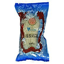 Diamond Glasnudeln, lang, Lungkou Vermicelli, 18er Pack (18 x 100g Packung)
