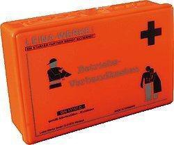 Leina-Werke Betriebsverbandkasten DIN 13157-C orange/20003 255 x 166 x 80 mm DIN 13157 Druck: schwarz