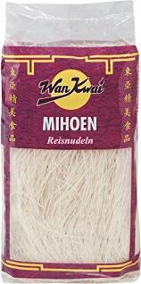 Wan Kwai - Mihoen Reisnudeln aus Reismehl Suppeneinlage - 250g