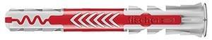 Fischer Befestigungstechnik Duo Power Dübel 8x40mm rot grau 100 Stück