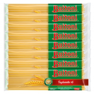 Buitoni Tagliatelle Nummer 16 Nudeln aus Hartweizengrieß 500g 8er Pack