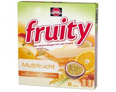 Schwartau fruity Gelbe Multifrucht, 8er Pack
