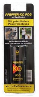 Pfefferspray Abwehrspray KO als Fog zum Einsatz im Freien 40ml