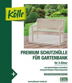 Kölle Premium Schutzhülle für Gartenbank 3-Sitzer