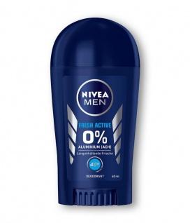 Nivea Men Deodorant Deo Stick Fresh Activ ohne Aluminium 3er Pack